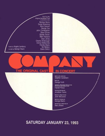 Company [Reunion concert program]