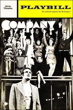 Company [playbill, August 1971]