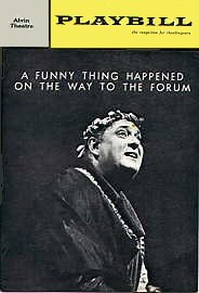 Forum, Broadway Production [playbill]