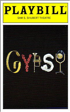 Gypsy (2003), Playbill