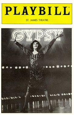 Gypsy [1989 playbill]