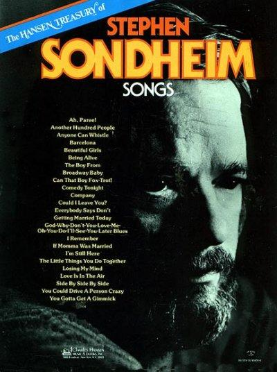 Hansen Treasury of Stephen Sondheim Songs