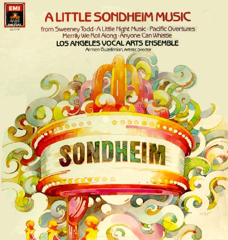 Los Angles Vocal Arts Ensemble: A Little Sondheim Music