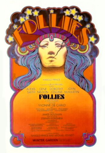 Follies, Broadway Production [poster]