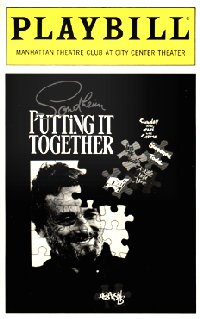 Putting It Together, Manhattan Theatre Club [playbill]