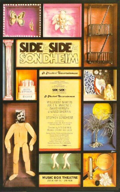 Side By Side By Sondheim [Broadway poster]