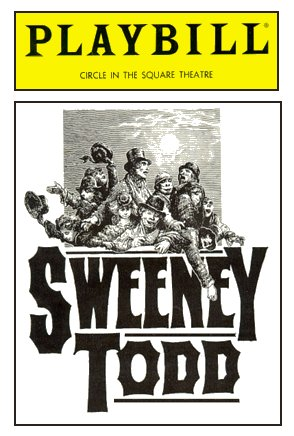 Sweeney Todd [1989 Revival Playbill]