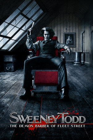 Sweeney Todd [2007 Film Poster]