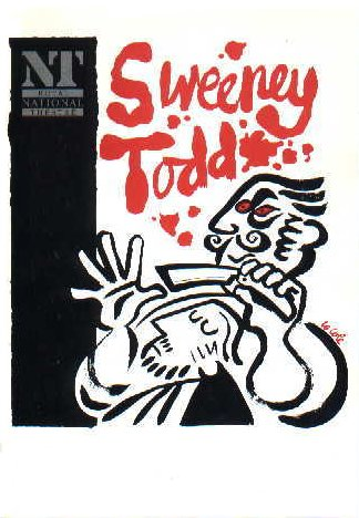 Sweeney Todd [1993 National Theatre Program]