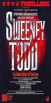 Sweeney Todd [2004 New Ambassadors poster]