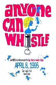 Anyone Can Whistle [1995 Concert program]