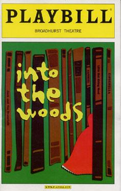 into the woods playbill