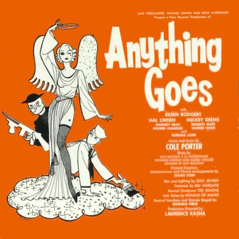 Cole Poter Anything Goes Recordings