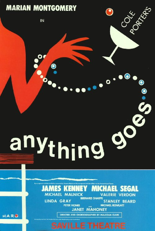 cole porter    anything goes  1969 london revival
