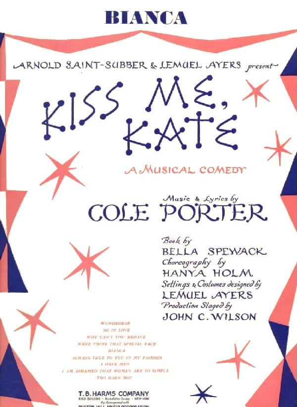 Lyric cole porter lyrics : Cole Porter / A Bibliography: Sheet Music