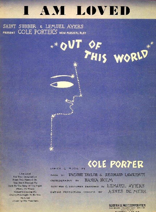 Lyric cole porter lyrics : Cole Porter / Out of This World