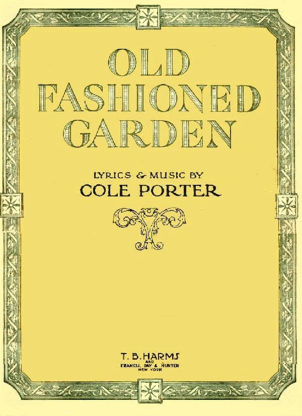 Lyric cole porter lyrics : Cole Porter / Hitchy-Koo of 1919